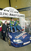 Bertie Fisher and Rory Kennedy win Rally of the Lakes.<br /> Picture by Don MacMonagle<br /> e: info@macmonagle.com