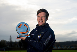 Darrell Clarke is Vanarama's manager of the month for December - Photo mandatory by-line: Joe Meredith/JMP - Mobile: 07966 386802 - 08/01/2015 - SPORT - football - Bristol - Bristol Rovers Training Ground - Bristol Rovers v Darrell Clarke - Vanarama Manager of the Month