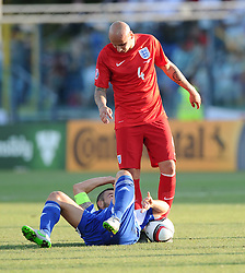 Jonjo Shelvey of England (Swansea City)  - Mandatory byline: Joe Meredith/JMP - 07966386802 - 05/09/2015 - FOOTBALL- INTERNATIONAL - San Marino Stadium - Serravalle - San Marino v England - UEFA EURO Qualifers Group Stage