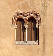 Hotel tourist accommodation in former castle Pousada Castelo de Altivo, Alvito, Baixo Alentejo, Portugal, southern Europe