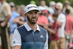 August 9, 2018 - Town And Country, Missouri, U.S - DUSTIN JOHNSON from Jupiter Florida, USA during round one of the 100th PGA Championship on Thursday, August 8, 2018, held at Bellerive Country Club in Town and Country, MO (Photo credit Richard Ulreich / ZUMA Press) (Credit Image: © Richard Ulreich via ZUMA Wire)