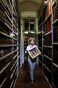 Milan, Brera, Biblioteca Braidense, Archicio Ricordi. Archivist Maria Pia Ferraris, foundamental human resources and memory for the whole collection , Modena