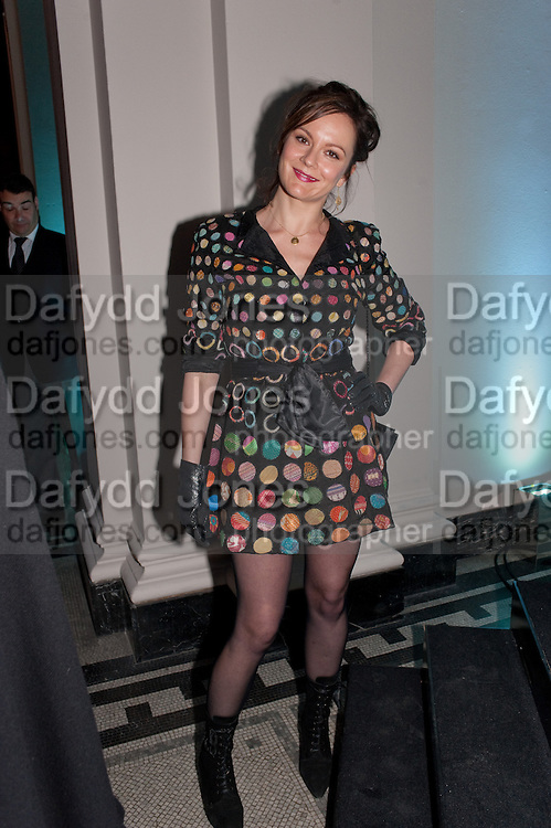RACHEL STIRLING, Cecil Beaton private view. V and A Museum. London. 6 February 2012