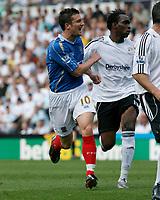 Photo: Steve Bond. <br />Derby County v Portsmouth. Barclays Premiership. 11/08/2007. David Nugent