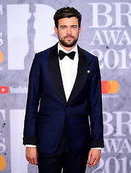 Jack Whitehall attending the Brit Awards 2019 at the O2 Arena, London.