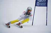 Gunstock Ski Club U16 giant slalom qualifier February 17, 2013.
