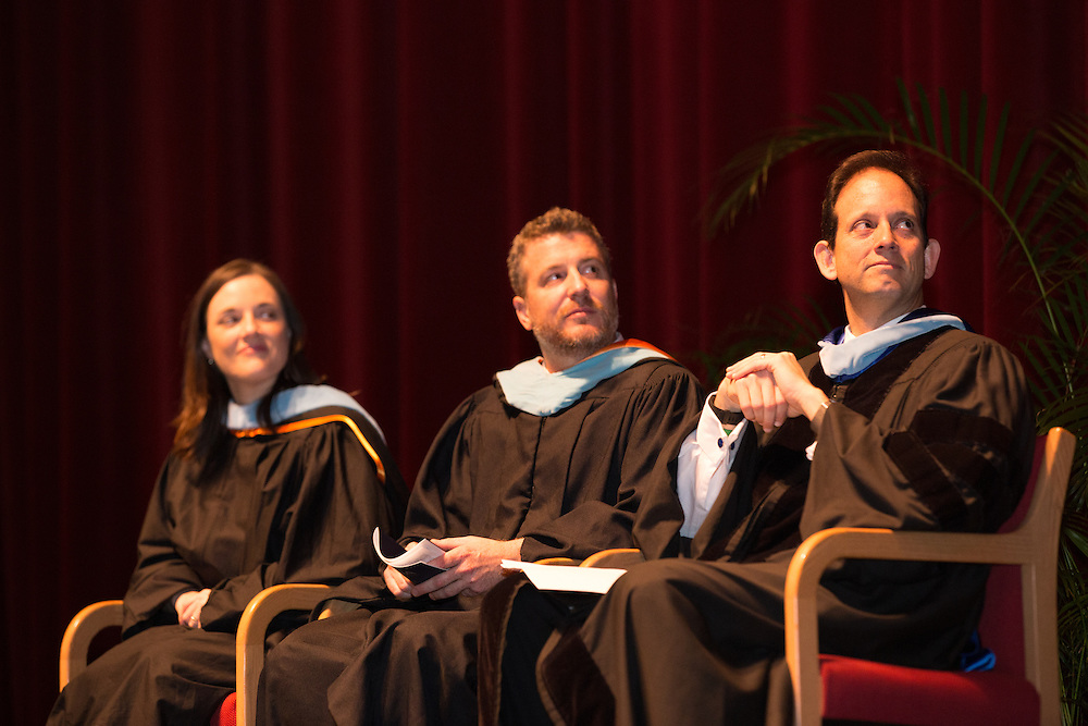 The University of Florida's MBA Executive and Professional Programs fall 2015 graduation ceremony at the Phillips Center for the Performing Arts on UF's campus in Gainesville, Florida.