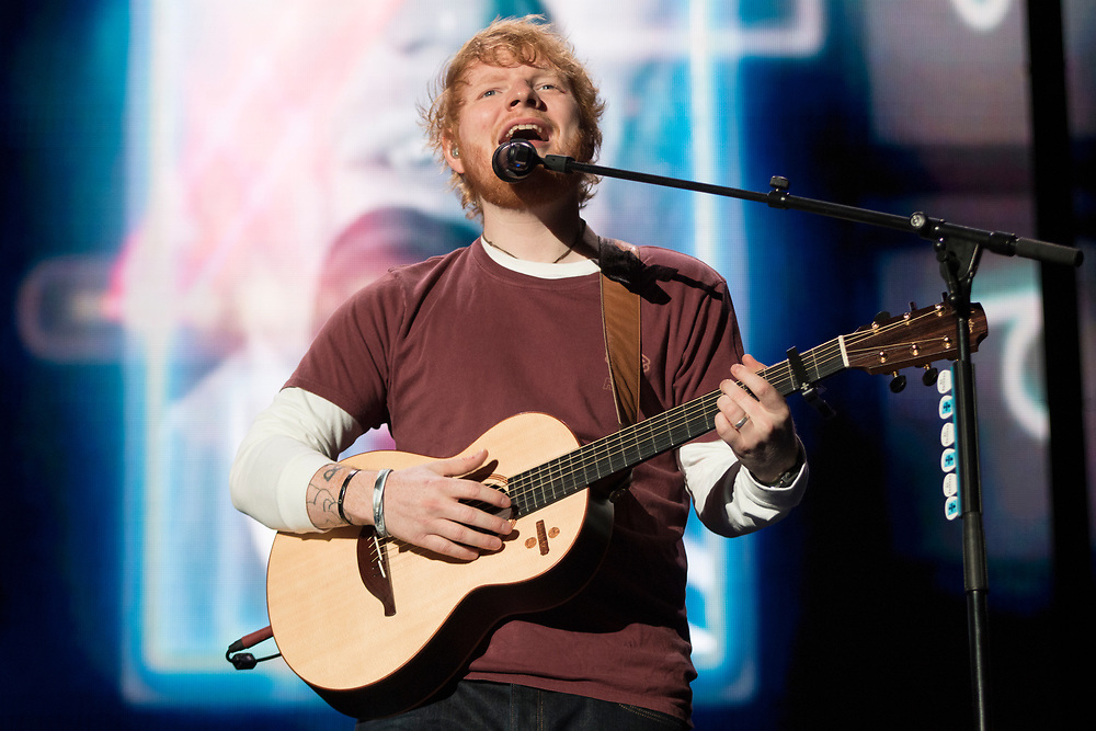 Ed Sheeran brings his Divide Stadium Tour to Chicago's Soldier Field on October 4, 2018.