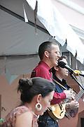 Mas o Menos String Band concert at 2010 Tucson Folk Festival.