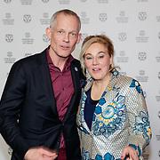 NLD/Rotterdam/20190123 - inloop Premiere Dirty God - IFFR , directeur Bero Beyer en Marjan van der Haar