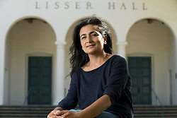 Manisha Aryal, an Arabic language student in the Middlebury at Mills program, photographed Monday, July 27, 2015 on the Mills College campus in Oakland, Calif. (Photo by D. Ross Cameron)