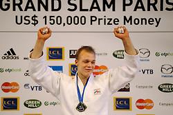 06-02-2011 JUDO: IJF GRAND SLAM PARIS 2011: PARIS<br /> Henk Grol heeft in Parijs het grand slam-toernooi op zijn naam geschreven. In de finale versloeg hij de Mongolier Tushinbayar Naida<br /> ©2011-WWW.FOTOHOOGENDOORN.NL