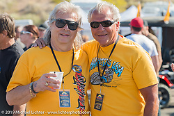 Donnie Smith and Vince Vaccaro at Arizona Bike Week's Cycle Fest at Westworld. USA. April 5, 2014.  Photography ©2014 Michael Lichter.