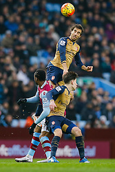 Mathieu Flamini of Arsenal - Mandatory byline: Rogan Thomson/JMP - 13/12/2015 - FOOTBALL - Villa Park Stadium - Birmingham, England - Aston Villa v Arsenal - Barclays Premier League.