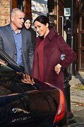 Meghan, Duchess of Sussex visits the Hubb community Kitchen in Notting Hill London<br /><br />21 November 2018.<br /><br />Please byline: Vantagenews.com