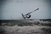 Windsurfing at Lyall Bay