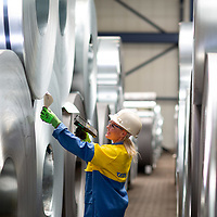 TATA Steel - Distribution Centre - NEUSS - Germany - Steel coils awaiting transport
