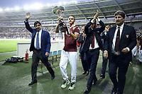 Urbano Cairo-Valerio Mantovani-Moreno Longo<br /> Torino 30/08/2015 - campionato di calcio serie A / Torino-Fiorentina / foto Daniele Buffa/Image Sport