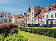 Mrągowo–miastowwojewództwie warmińsko-mazurskim, popularny ośrodek turystyczny i wypoczynkowy naMazurach.