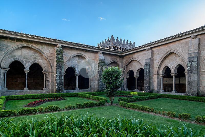 Claustro de la catedral de Tuy. Pontevedra. Galicia. España. Europa ©Country Sessions / PILAR REVILLA