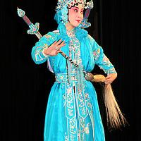 Asia, China, Beijing. Beijing Opera Performer