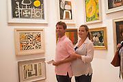 REBECCA TROTMAN; JAMES TROTMAN, 20/21 British Art Fair. Celebrating its 25 Anniversary. The Royal College of Art . Kensington Gore. London. 12 September 2012.