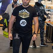 NLD/Rotterdam/20200224 - Stare down Boxing Influencers 2020, Joey Bravo