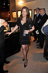 HELEN McINTYRE at a party to celebrate the launch of Simon Sebag-Montefiore's new book - 'Jerusalem: The Biography' held at Asprey, 167 New Bond Street, London on 26th January 2011.