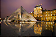 Le Louvre Reflections, Paris, France
