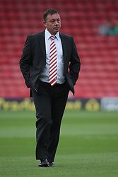 Nottingham Forest's Manager, Billy Davies   - Photo mandatory by-line: Nigel Pitts-Drake/JMP - Tel: Mobile: 07966 386802 25/08/2013 - SPORT - FOOTBALL -Vicarage Road Stadium - Watford -  Watford v Nottingham Forest - Sky Bet Championship