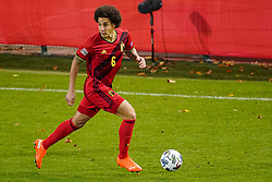 LEUVEN, BELGIUM - Sunday, November 15, 2020: Belgium's Axel Witsel during the UEFA Nations League Group Stage League A Group 2 match between England and Belgium at Den Dreef. (Pic by Jeroen Meuwsen/Orange Pictures via Propaganda)