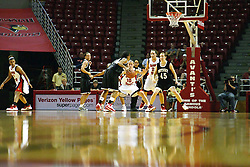 02 November 2008: Redbird arena appears sparse for an exhibition game which the Illinois State Redbirds defeated Odyssey on Doug Collins Court inside Redbird Arena in Normal Illinois.
