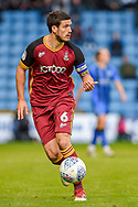 Bradford City defender Anthony O'Connor (6) during the EFL Sky Bet League 1 match between Gillingham and Bradford City at the MEMS Priestfield Stadium, Gillingham, England on 27 October 2018.