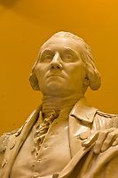 George Washington statue, Rotunda, Virginia State Capitol, Richmond, Virginia USA