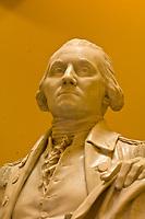 George Washington statue, Rotunda, Virginia State Capitol, Richmond, Virginia USA