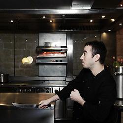 "PARIS, FRANCE. NOVEMBER 29, 2010. ""Spring"" Restaurant's owner and chef Daniel Rose. (Photo by Antoine Doyen)"