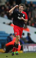Photo: Paul Thomas.<br /> Leeds United v Southampton. Coca Cola Championship. 18/11/2006.<br /> <br /> Grzegorz Rasiak of Southampton celebrates his goal.