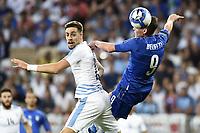 Nice (Francia) 07-06-2017 Stadio Allianz Riviera Friendly match Italia - Uruguay / Italy - Uruguay foto Image Sport/Insidefoto<br /> nella foto: Andrea Belotti-Sebastian Coates