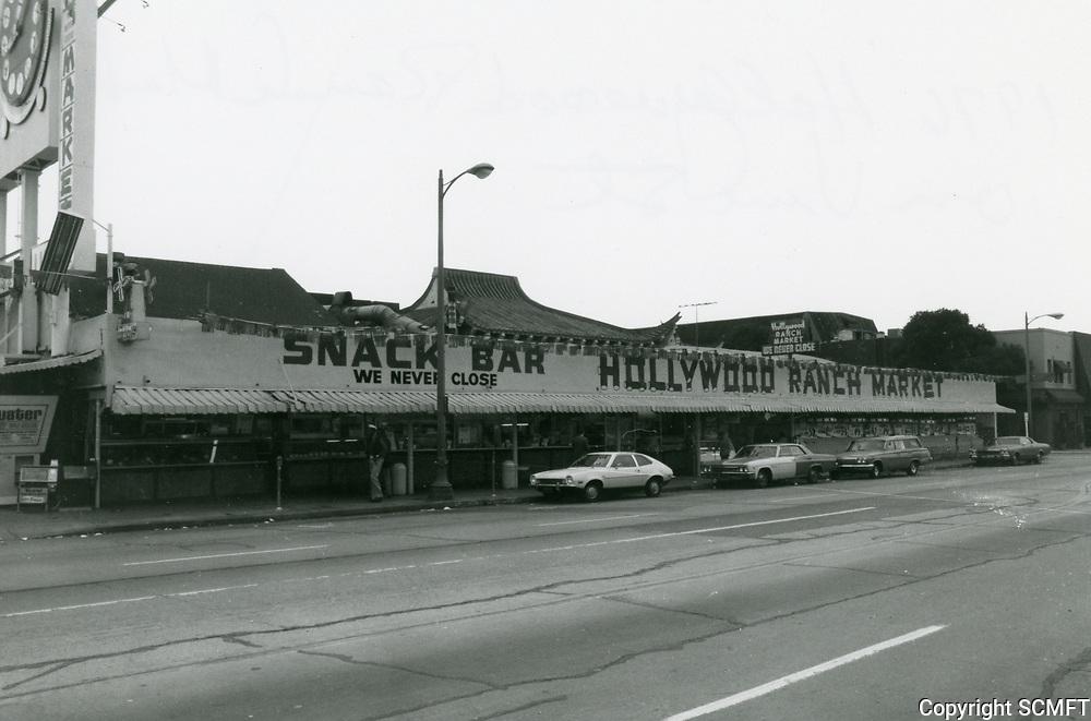 1977 Hollywood Ranch Market on Vine St.