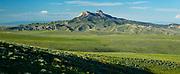 Heart Mountain panorama during summer