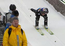 05.01.2012, Paul Ausserleitner Schanze, Bischofshofen, AUT, 60. Vierschanzentournee, FIS Ski Sprung Weltcup, Training, im Bild Schlierenzauer Gregor (AUT) // Schlierenzauer Gregor of Austria during a practice session of 60th Four-Hills-Tournament FIS World Cup Ski Jumping at Paul Ausserleitner Schanze, Bischofshofen, Austria on 2012/01/05. EXPA Pictures © 2012, PhotoCredit: EXPA/ Johann Groder
