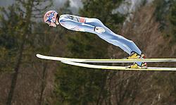 18.03.2012, Planica, Kranjska Gora, SLO, FIS Ski Sprung Weltcup, Einzel Skifliegen, im Bild Michael Neumayer (GER),  during the FIS Skijumping Worldcup Individual Flying Hill, at Planica, Kranjska Gora, Slovenia on 2012/03/18. EXPA © 2012, PhotoCredit: EXPA/ Oskar Hoeher.