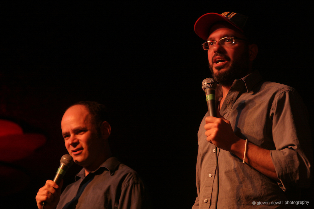 Todd Barry and David Cross perform at the Showbox in Seattle, WA.
