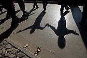 People dance at Fuxin Park in Shanghai, China on 15 November, 2013.
