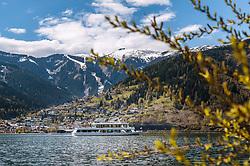 THEMENBILD - die MS Schmittenhöhe am Zeller See, aufgenommen am 1. Mai 2017, Zell am See, Österreich // the MS Schmittenhöhe on the lake Zell at Zell am See, Austria on 2017/05/01. EXPA Pictures © 2017, PhotoCredit: EXPA/ JFK