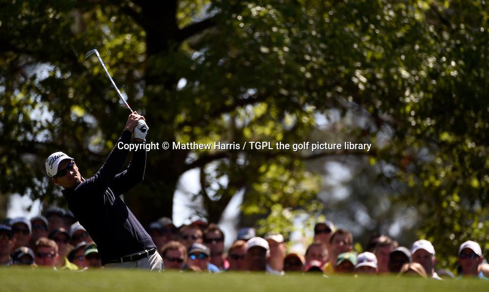 Adam SCOTT (AUS) during first round US Masters 2014,Augusta National,Augusta, Georgia,USA.