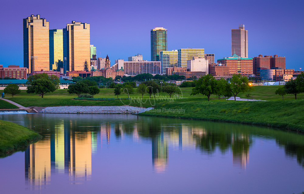 Fort Worth is the 17th-largest city in the United States of America and the fifth-largest city in the state of Texas. The city is located in North Central Texas and covers nearly 350 square miles in Tarrant, Denton, Parker, and Wise counties—serving as the seat for Tarrant County. According to the 2013 census estimates, Fort Worth has a population of 792,727. The city is the second-largest in the Dallas–Fort Worth–Arlington metropolitan area. The city was established in 1849 as an Army outpost on a bluff overlooking the Trinity River. Today Fort Worth still embraces its Western heritage and traditional architecture and design.