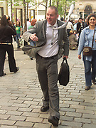 A51PC3 Street perfomer Covent Garden London England