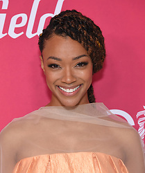 February 19, 2019 - Beverly Hills, California, U.S. - Sonequa Martin-Green arrives for the 21st CDGA (Costume Designers Guild Awards) at the Beverly Hilton Hotel. (Credit Image: © Lisa O'Connor/ZUMA Wire)