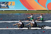 Sarasota. Florida  Gold Medalist NZL M2X. <br /> Boe. John STOREY and Christopher<br /> HARRIS, USA.Sunday Final's Day at the  2017 World Rowing Championships, Nathan Benderson Park<br /> <br /> Sunday  01.10.17   <br /> <br /> [Mandatory Credit. Peter SPURRIER/Intersport Images].<br /> <br /> <br /> NIKON CORPORATION -  NIKON D500  lens  VR 500mm f/4G IF-ED mm. 200 ISO 1/800/sec. f 7.1